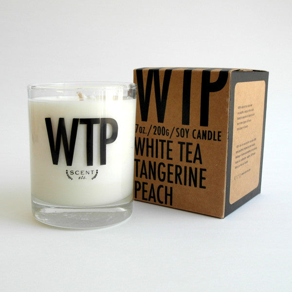 WTP eco-soy candle (SOLD OUT)