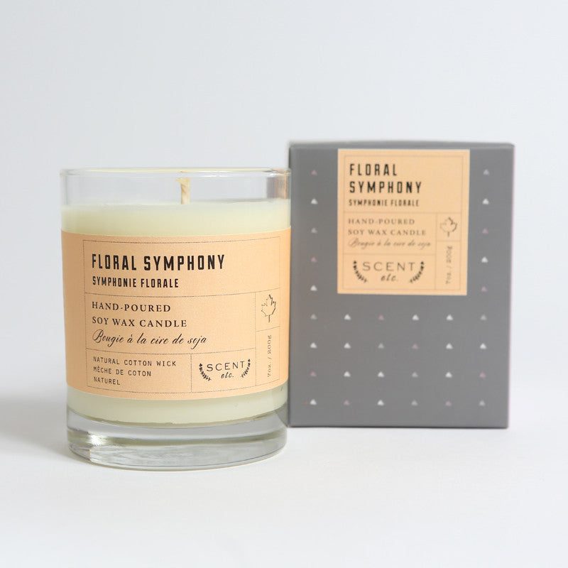 Floral Symphony soy wax candle (SOLD OUT)