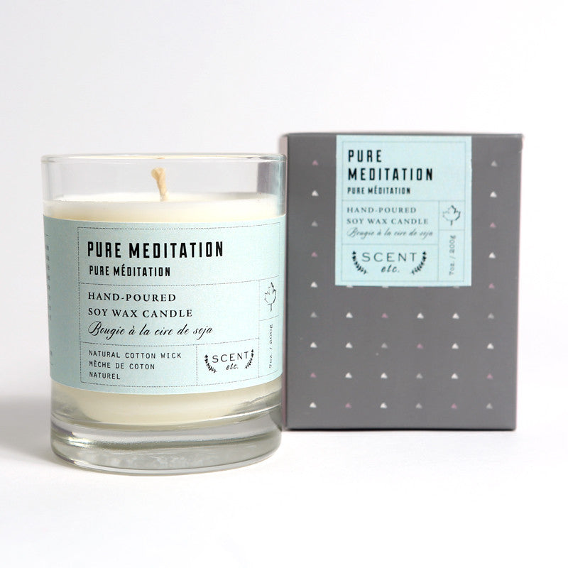 Pure Meditation soy wax candle