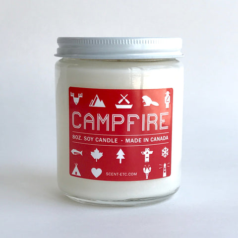 Canadiana candle - 8 oz. Campfire