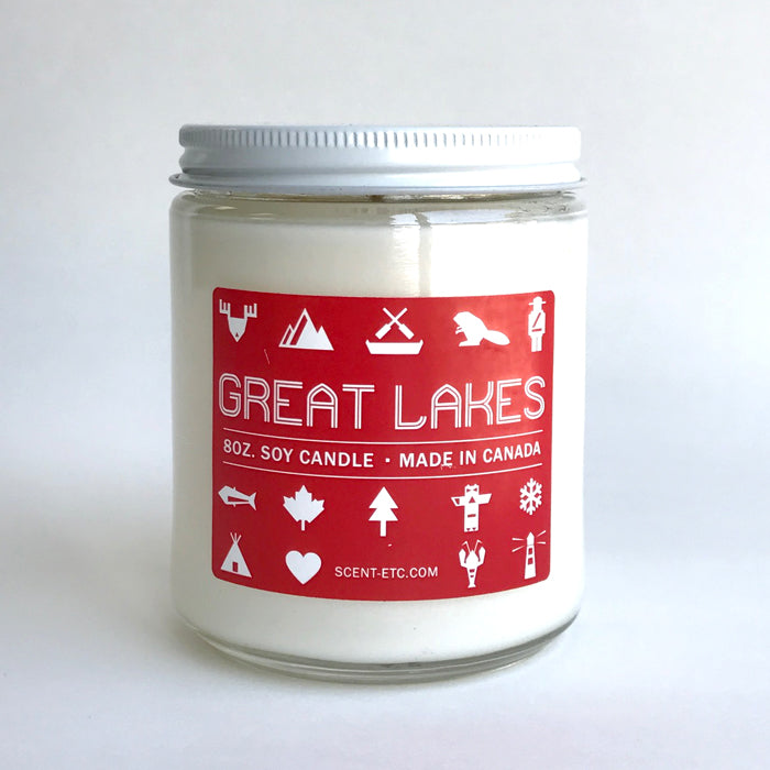 Canadiana candle - 8 oz. Great Lakes