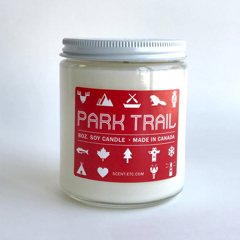 Canadiana candle - 8 oz. Park Trail