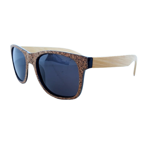 Cork Sunglasses (Black) Polarized