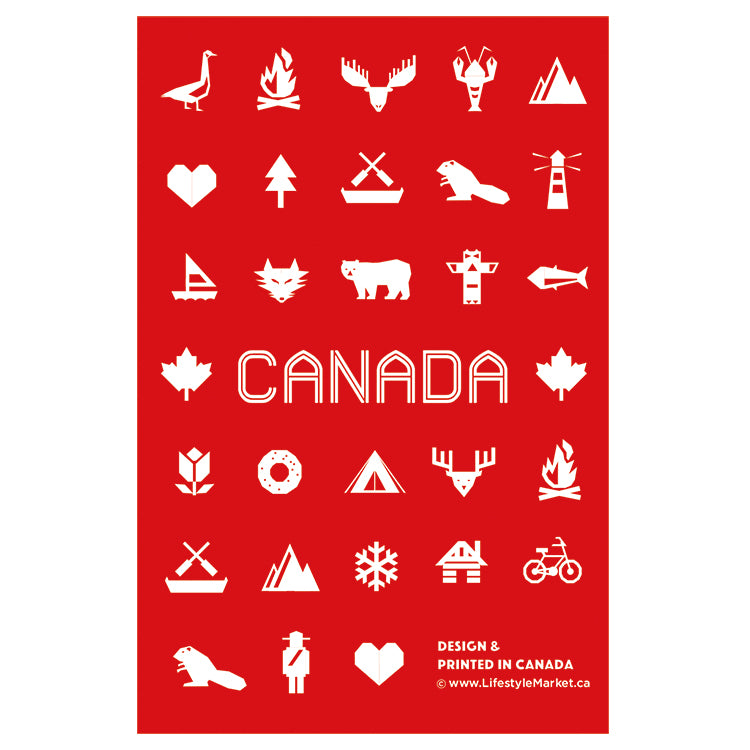Canadiana Postcard - singles