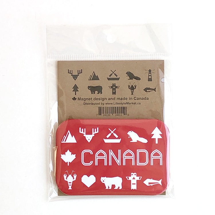 Canadiana magnet