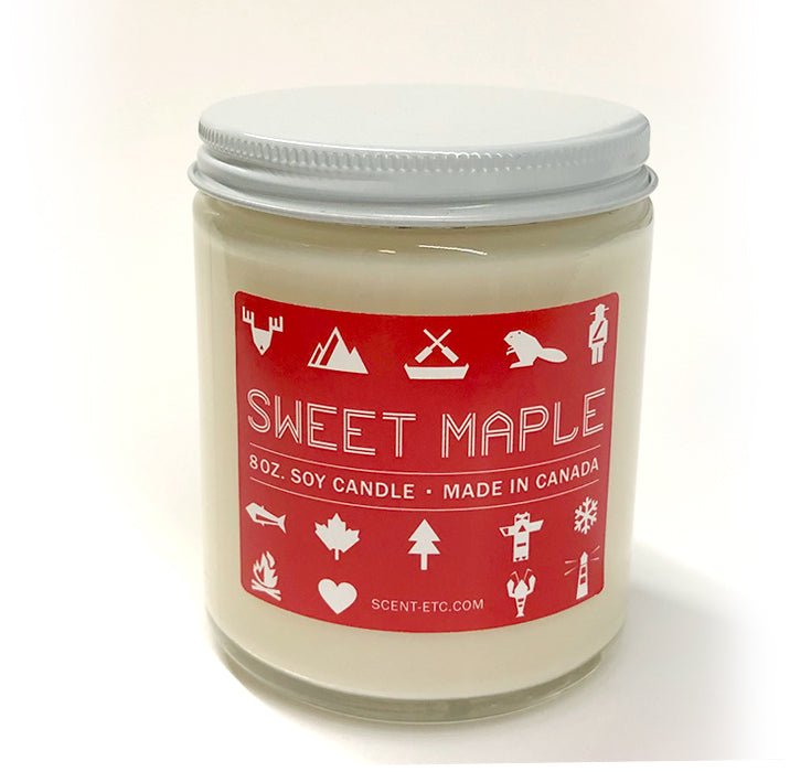 Canadiana candle - 8 oz. Sweet Maple