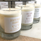 Grapefruit Orange soy wax candle