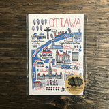 Ottawa Cityscape Postcard set of 8