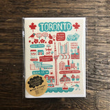 Dasher Toronto Cityscape Notebook