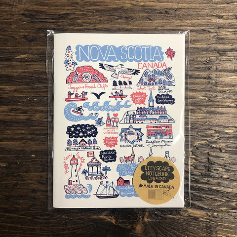 Nova Scotia Cityscape Notebook