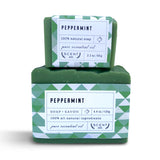 Peppermint mini soap