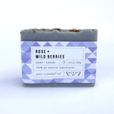 Rose + Mixed berries mini soap