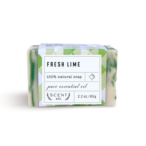 Fresh Lime mini soap