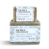 Tea Tree & French Green Clay soap