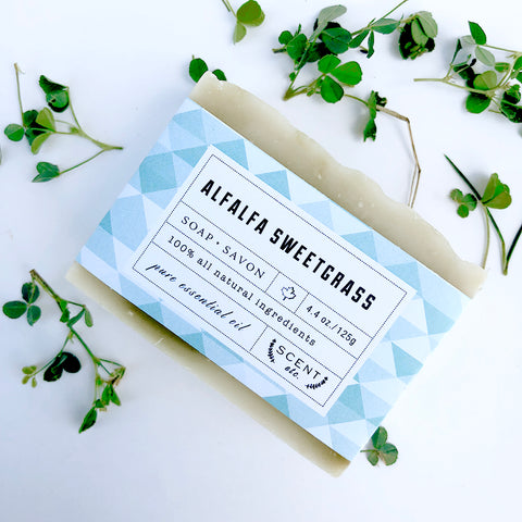 Alfalfa Sweet Grass soap