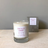 Sun-filled Library soy wax candle