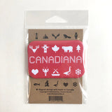 NEW! Canadiana tea towel