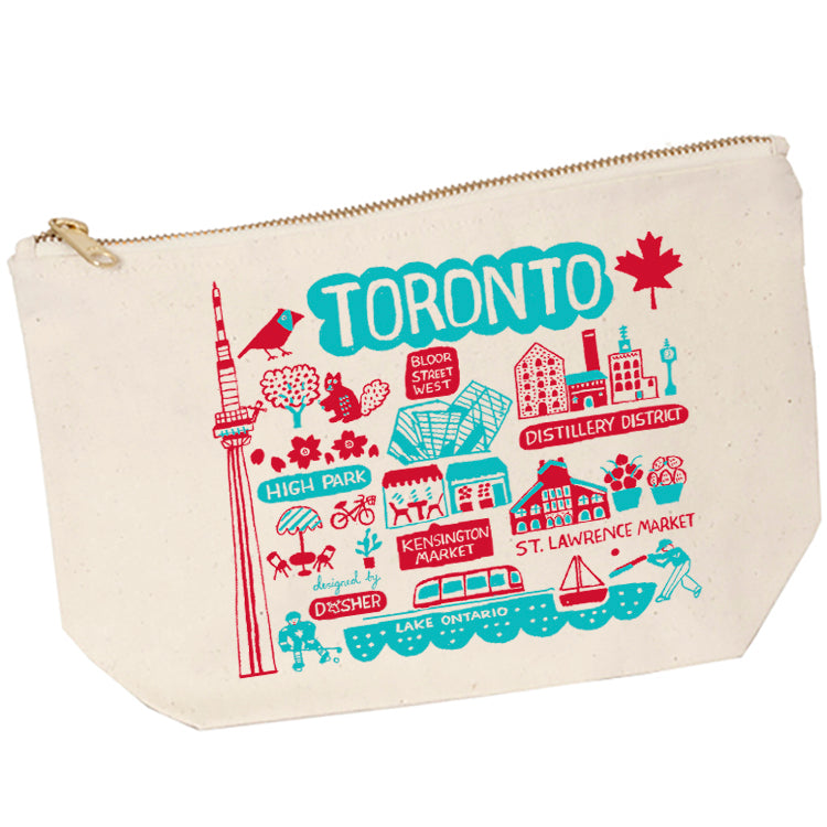 Dasher Toronto Zip Pouch