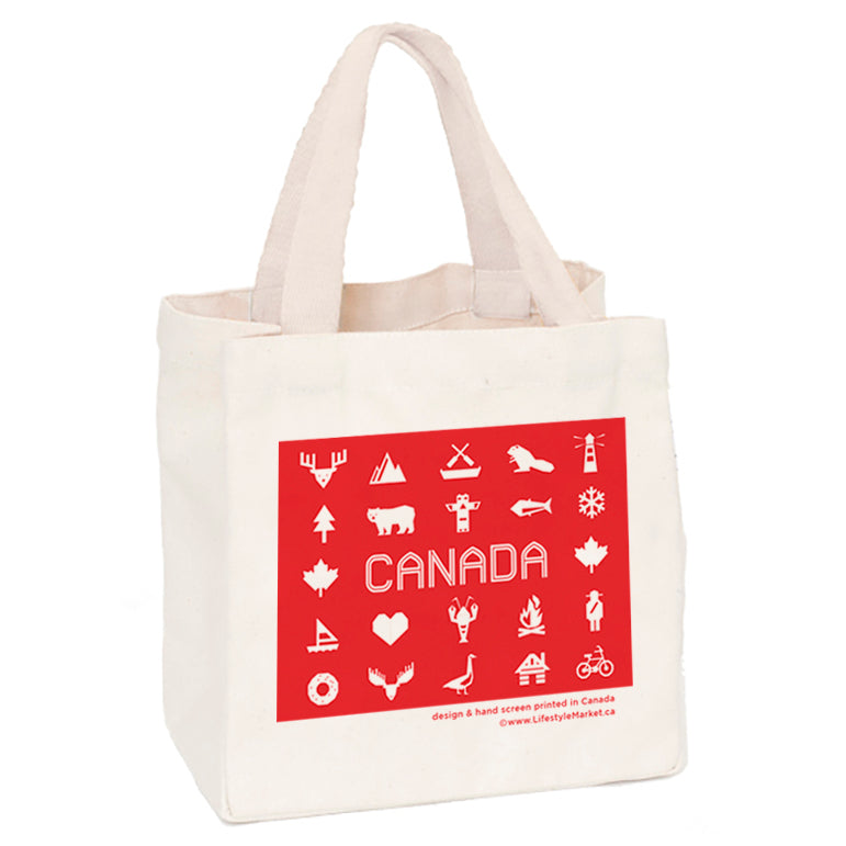 Canadiana small tote