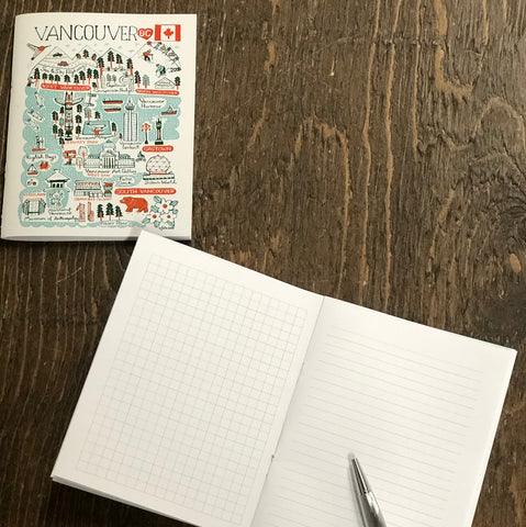 Vancouver Cityscape Notebook