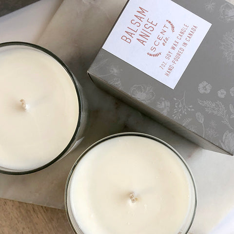 Balsam Anise soy wax candle