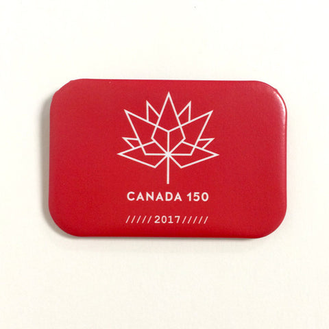 Canada 150 magnet - red