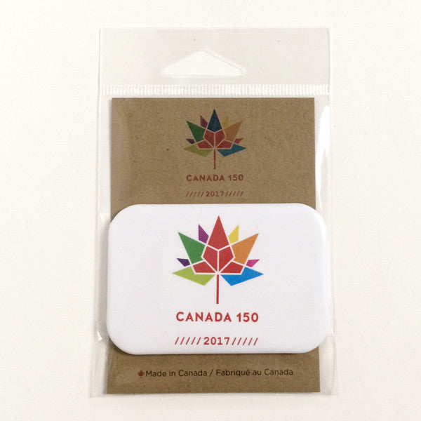 Canada 150 magnet - white