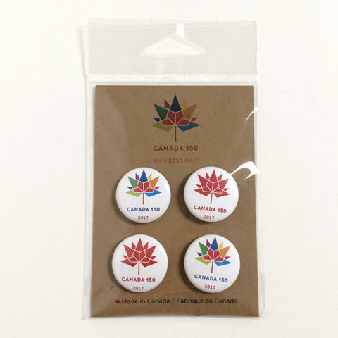 Canada 150 pin button set 4 (SOLD OUT!)