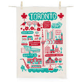 Dasher Toronto Cityscape Tea Towel