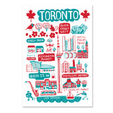 Dasher Toronto Cityscape Print art