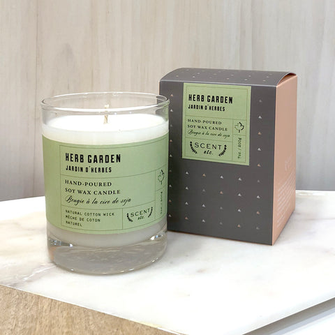 NEW Herb Garden soy wax candle