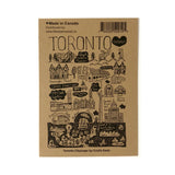 Toronto Cityscape pin button set