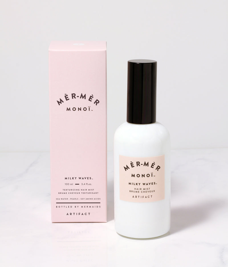 Mèr-Mèr Monoï Milky Waves Hair Mist - Artifact Skin Co.