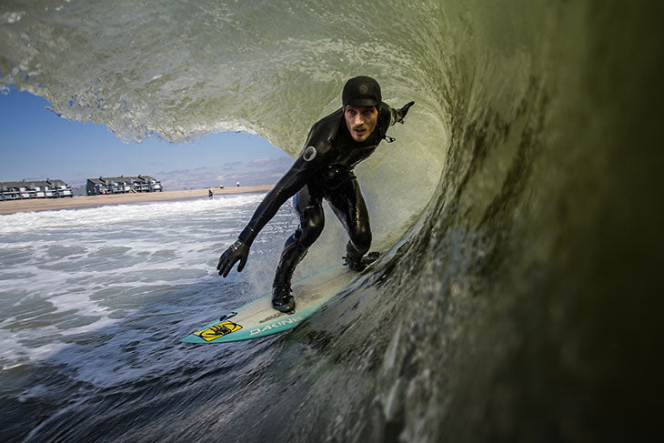 Clay surfing