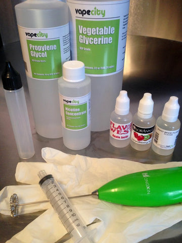 DIY eJuice Supplies