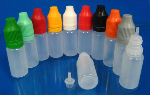 10ml and 30ml LDPE security bottles