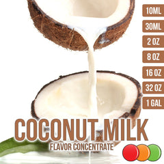 coconut milk flavor