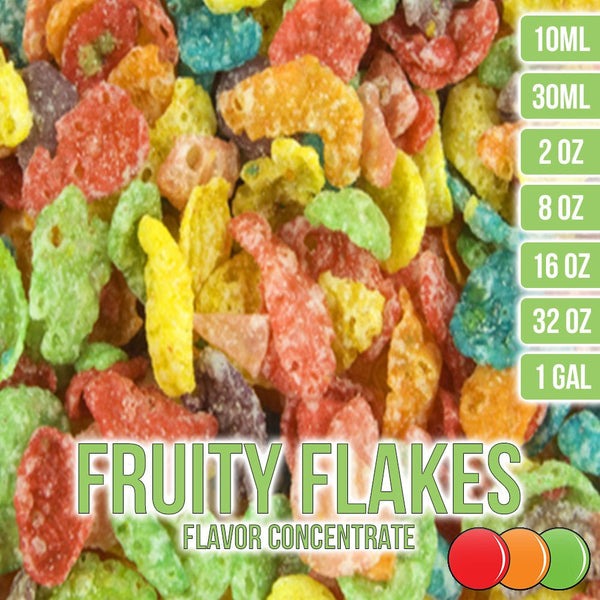 Fruity Flakes Cereal Flavor