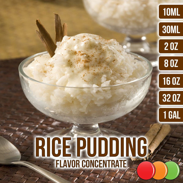 Rice Pudding Flavor