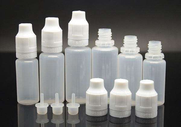 eJuice security LDPE bottles