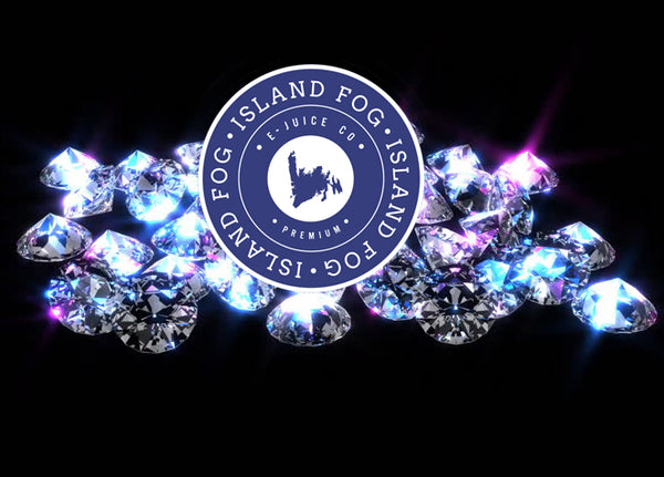 Sparkling diamonds by Island Fog eJuice