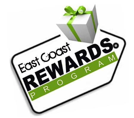 east coast rewards program