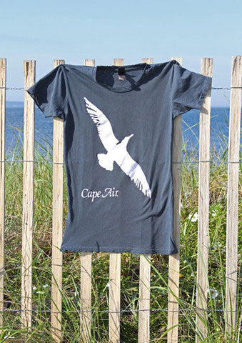 Women's Gull Logo Distressed Tee