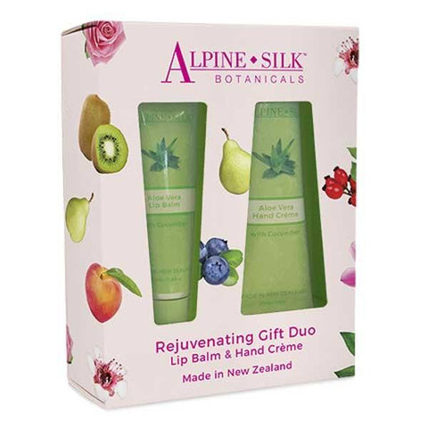 Alpine Silk Botanicals - Rejuvenating Gift Duo