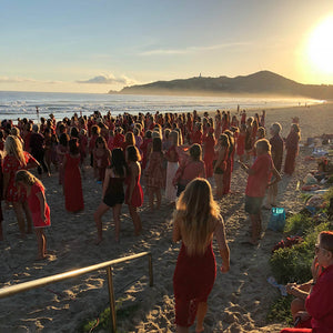 One Billion Rising Beach Gathering