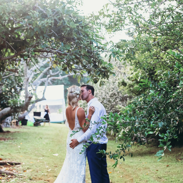 Tropical Orchard Wedding - Byron Bay