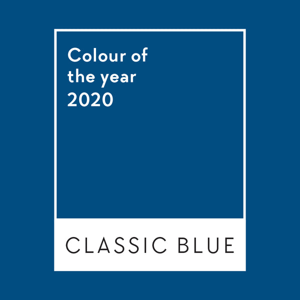Classic Blue - The colour of the year