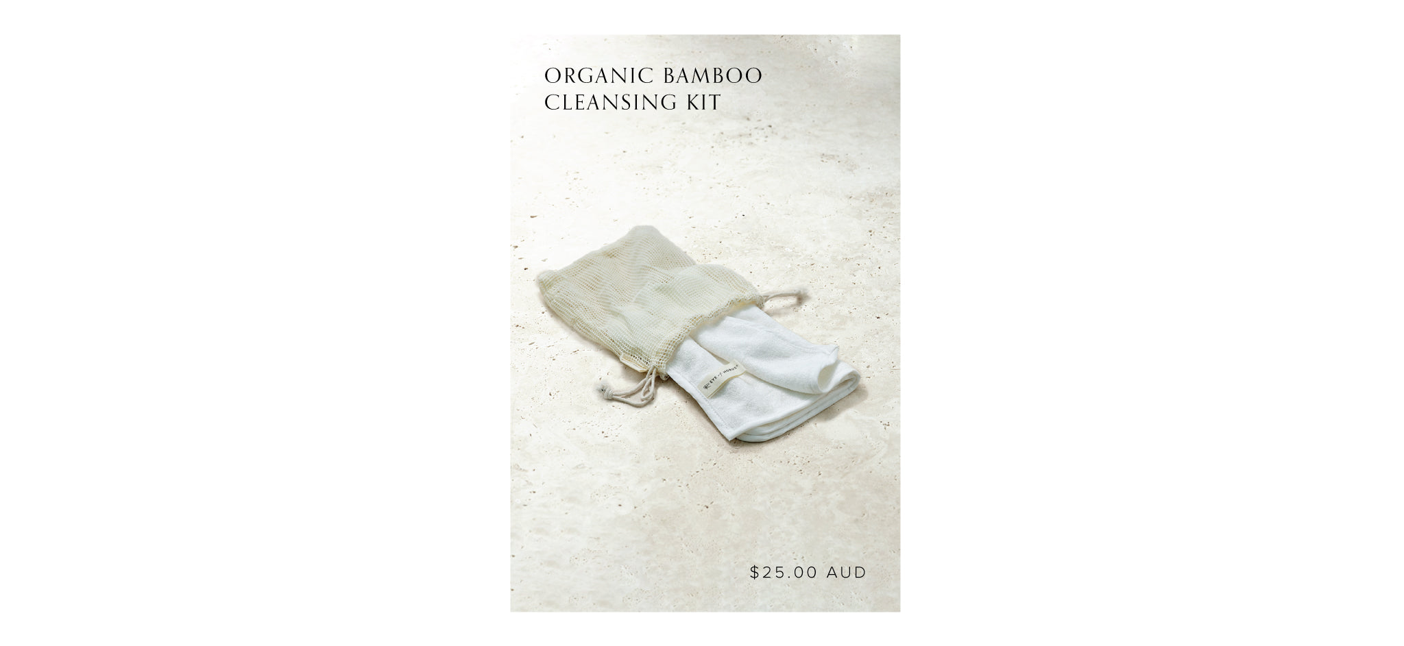 Shop Organic Bamboo Cleansing Kit