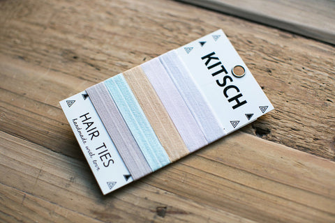 Kitsch Hair Ties - Beachy