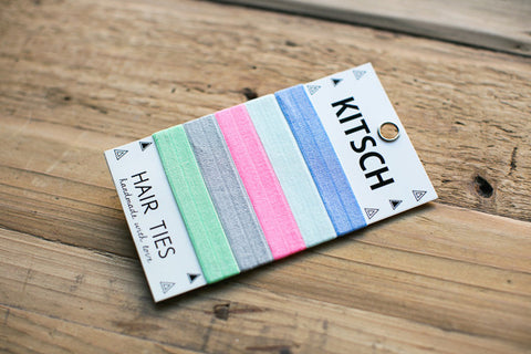 Kitsch Hair Ties - Brights